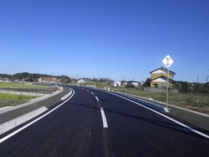 田中町17号線道路舗装工事